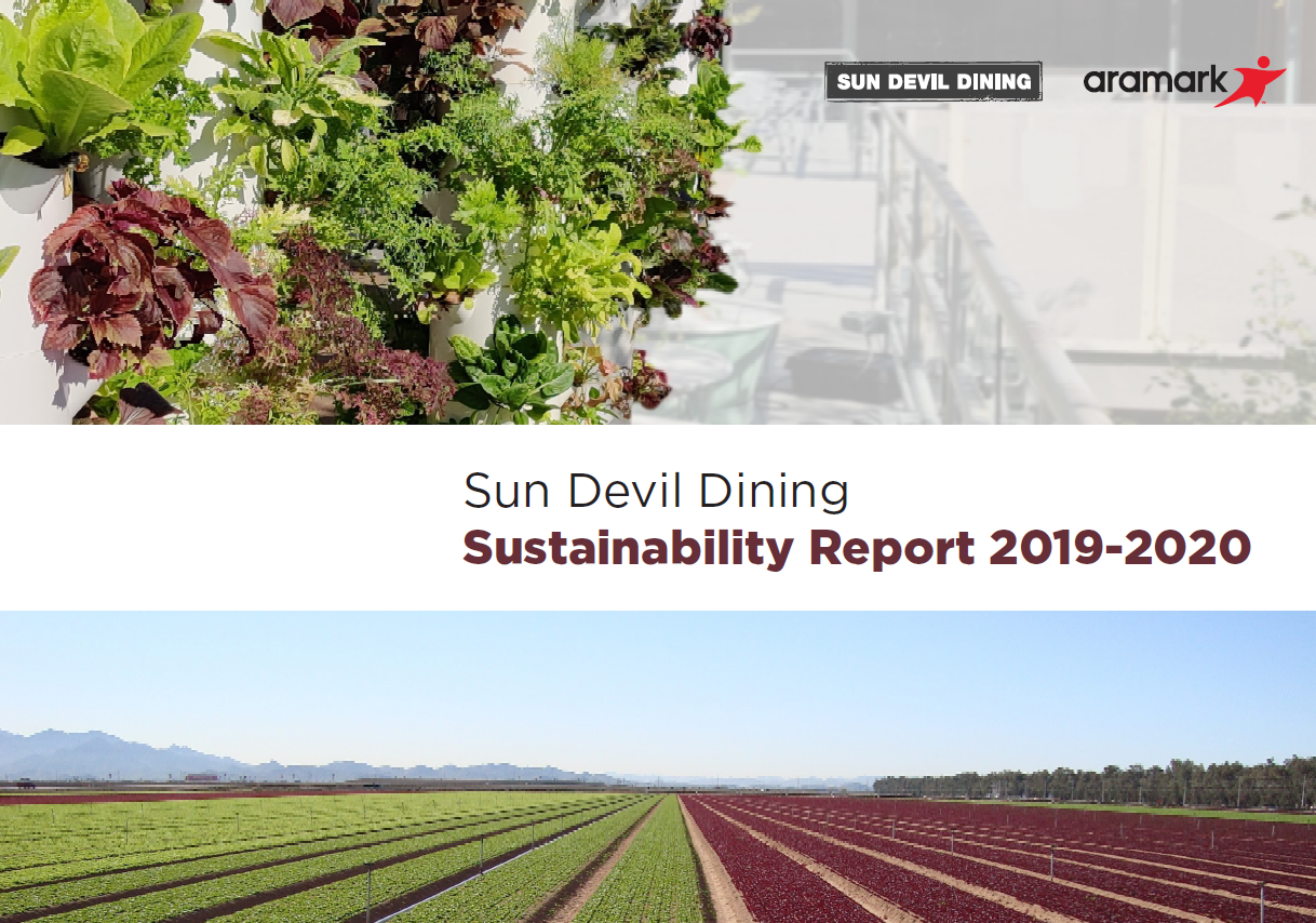 Sun Devil Dining Annual Sustainability Report PDF